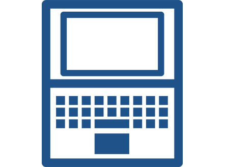 icon of laptop computer